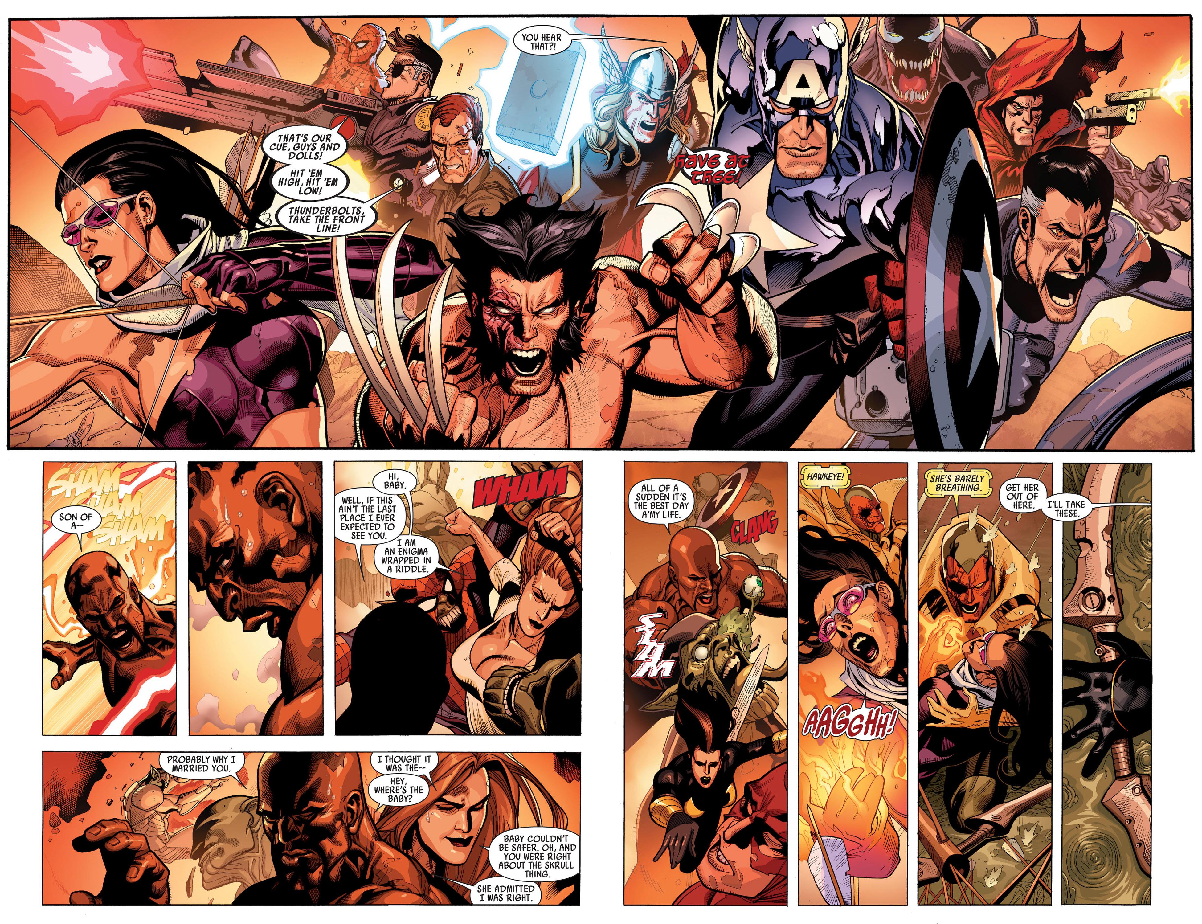 Read online Secret Invasion comic -  Issue #7 - 17