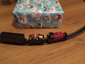 Santa's Express and carriages