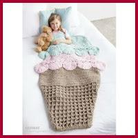 Saco de crochet para nenas