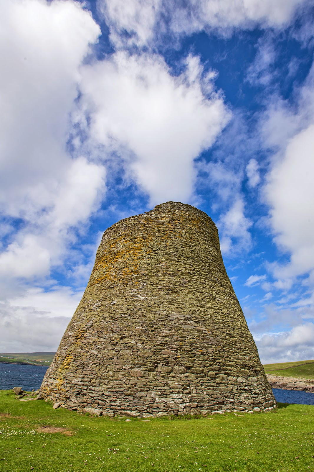 Mousa Broch, The Shetland Islands, Scotland, UK