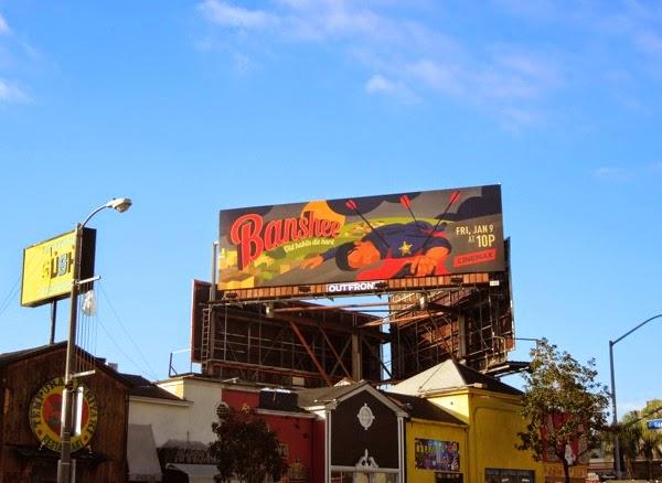 Banshee season 3 billboard