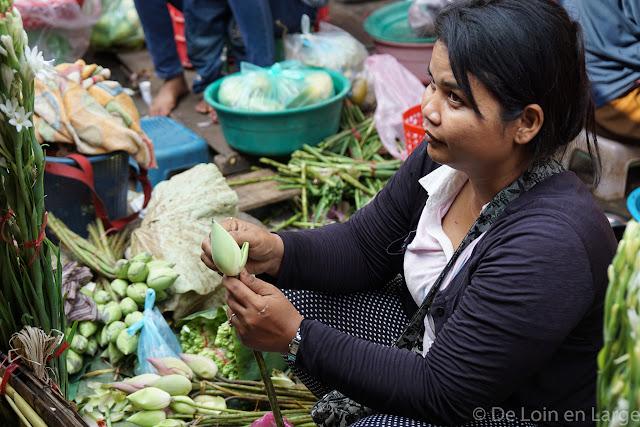 Phsar Boeung Chloeuk - Battambang  - Cambodge