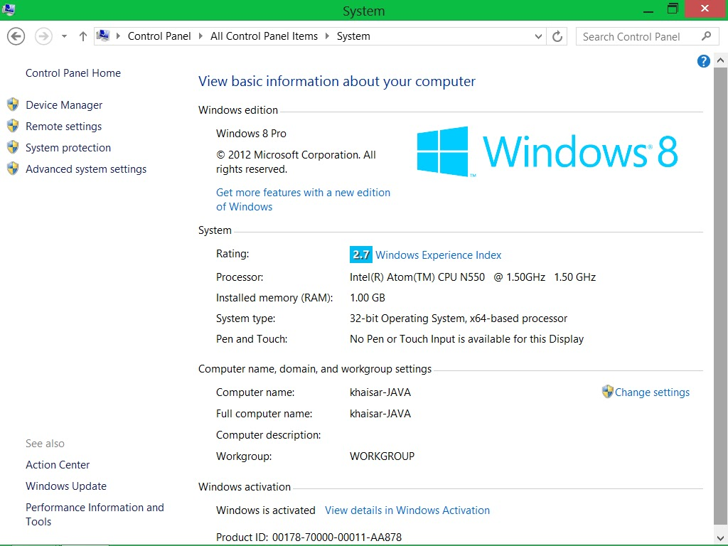 Download Windows 8 Pro Retail + Cara Aktivasi