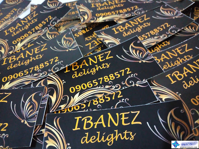 Satin Paper Sticker Labels - Ibanez Delights