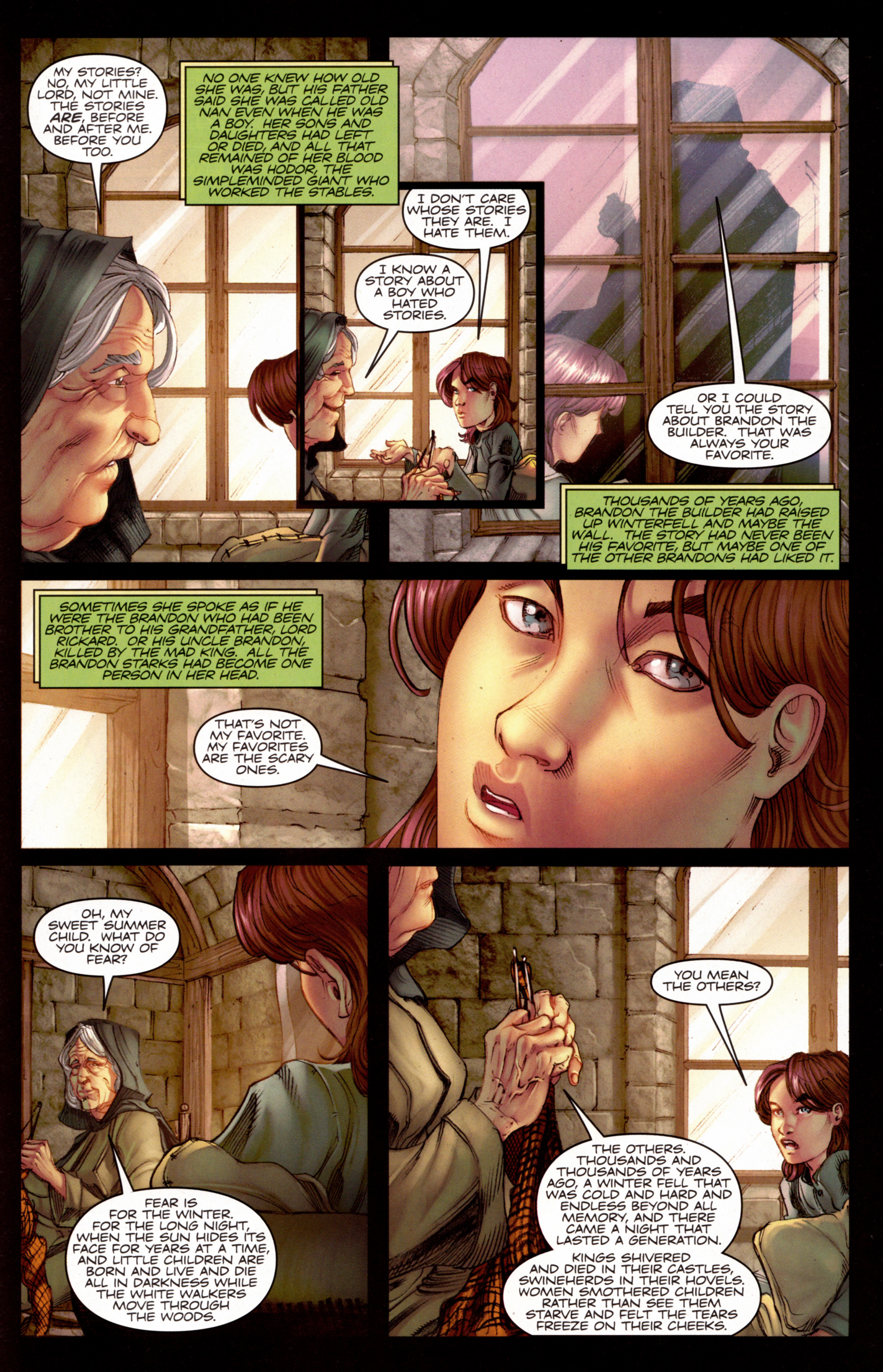 Read online A Game Of Thrones comic -  Issue #7 - 22