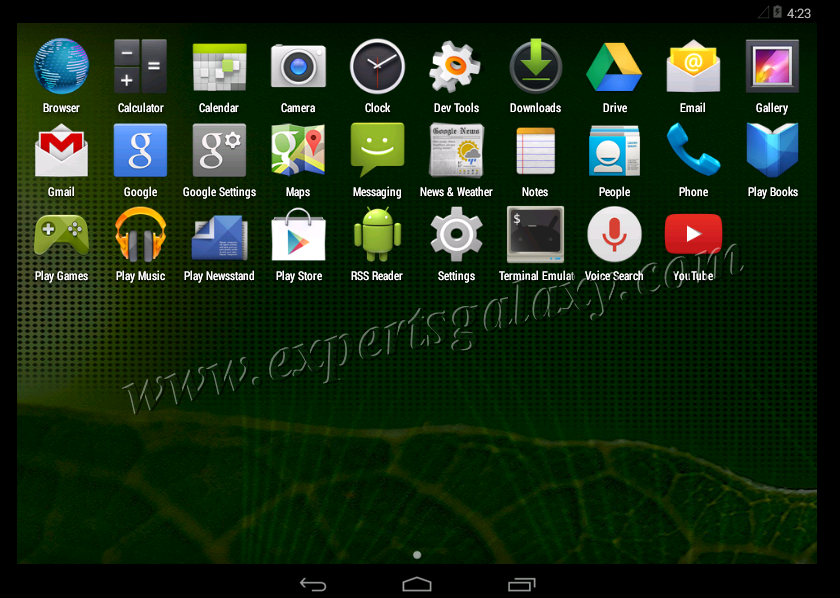 Finally Configured Android Installation