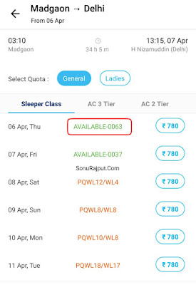 Paytm se Railway Ticket Availability kaise Check Karte Hai