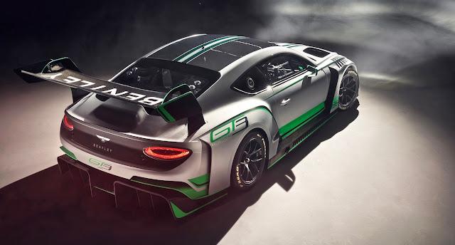 ベントレー・コンチネンタルGT3  レースカー 2018
