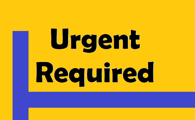 Image result for urgent openings