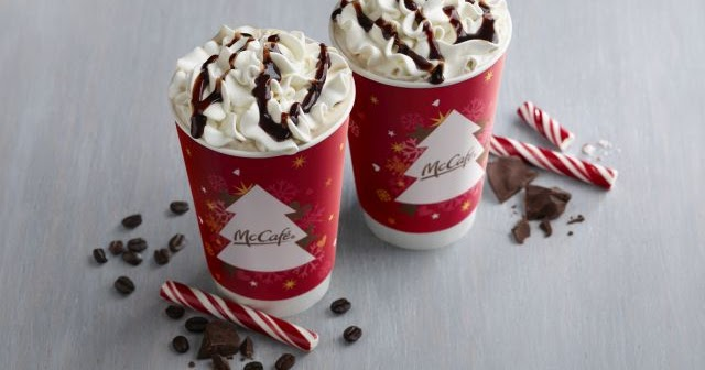 Peppermint Mochas are Back at McDonald's for 2016 Holiday Season | Brand Eating