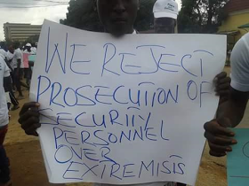 , Protesters in Kaduna demand for prosecution of Extremists, Latest Nigeria News, Daily Devotionals & Celebrity Gossips - Chidispalace