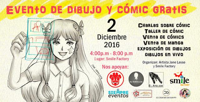 afiche evento de dibujo
