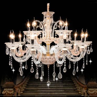 Cách chọn đèn chùm pha lê cao cấp cho không gian đẹp hoàn hảo
