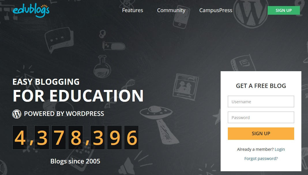 Edublog stands as the most significant platform that allows teacher-student cooperation.