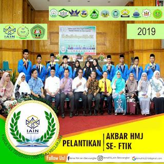 Pelantikan HMJ MPI dan HMJ selingkup Fakultas Tarbiyah dan Ilmu Keguruan Periode 2019