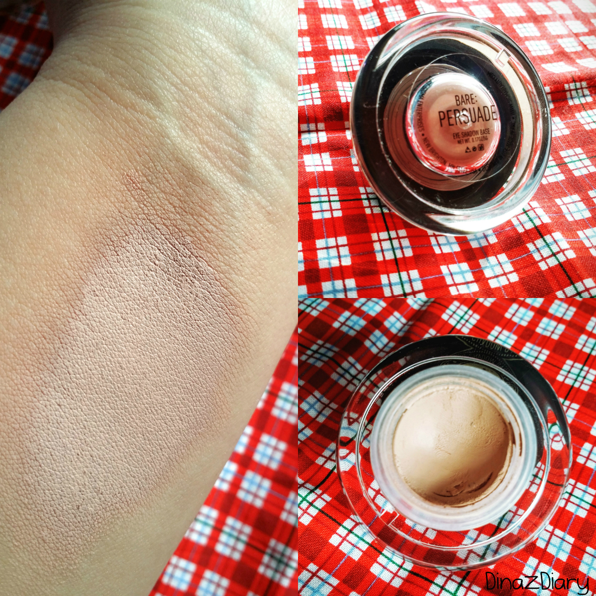 Dinazdiary Sigma Beauty Eyeshadow Base In Persuade Review