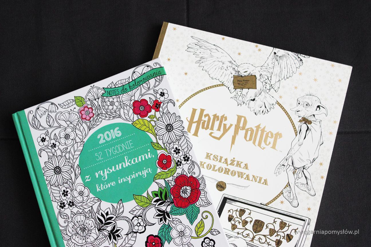 kolorowanki, kolorowanki dla dorosłych, harry potter kolorowanka, książka, blog, co to