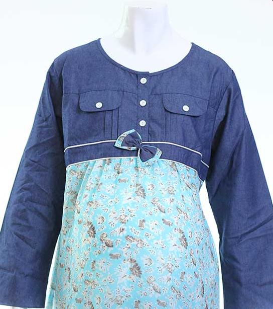 Gambar Baju Muslim Hamil Trendy dan Modern