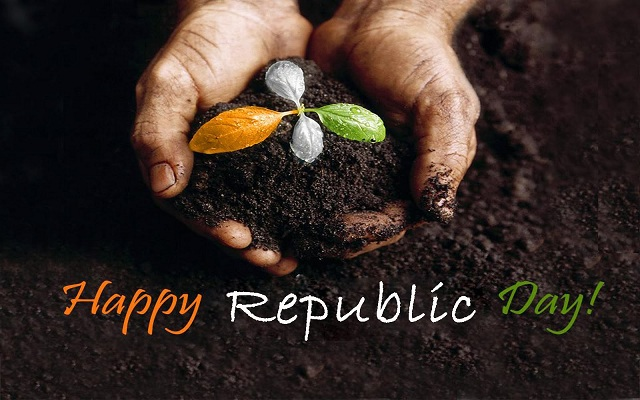 Republic Day happiness Whatsapp Status DP Images Hike Sticker Timeline