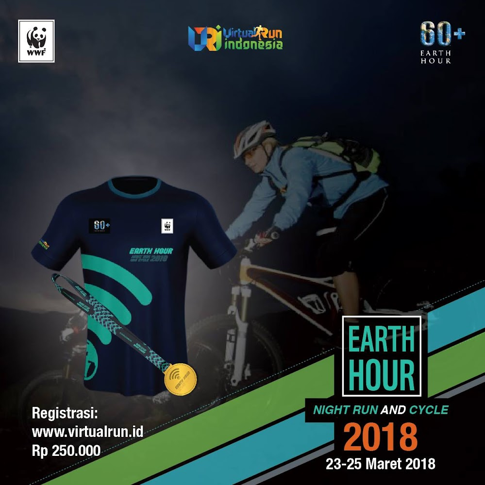 Earth Hour Night Run and Cycle • 2018