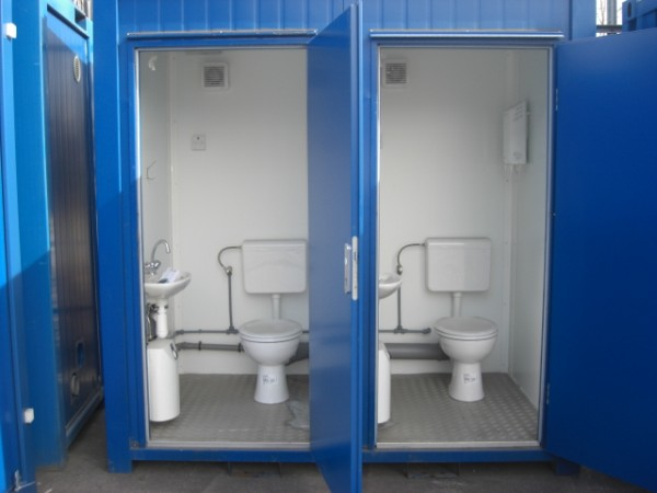 Container Toilet Di Dong
