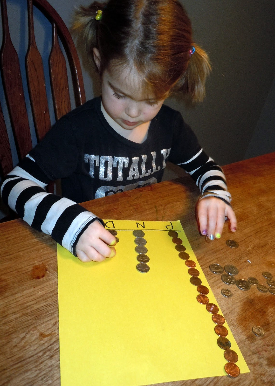 Adventures At The Kitchen Table Counting Coins Lesson 2