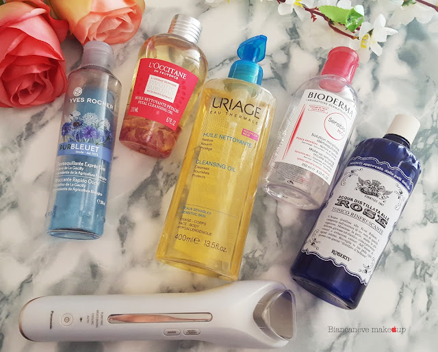 Skincare routine: detersione di sera