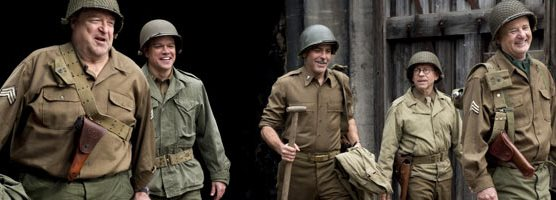 Primeiro trailer de THE MONUMENTS MEN com George Clooney, Matt Damon, John Goodman, Bill Murray e Cate Blanchett