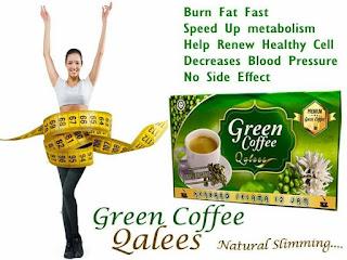 GREEN COFFEE QALEES - SLIM DAN DETOX SEKALI