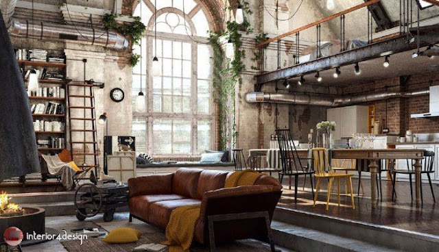 Industrial Style Decor 10