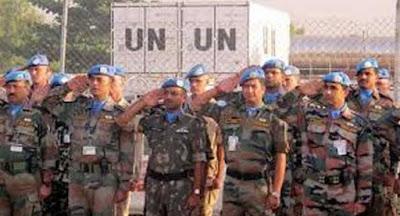 UN Honoured Indian Peacekeepers