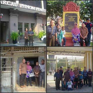 Lawatan Sambil Belajar Ke Phnom Penh
