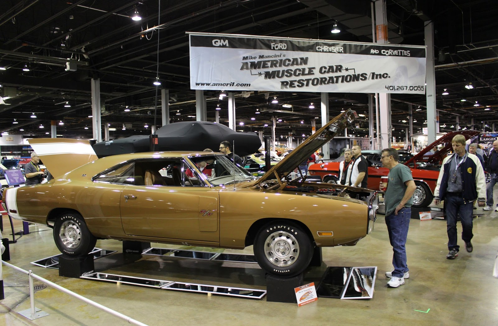 Covering Classic Cars : 2015 Muscle Car And Corvette
