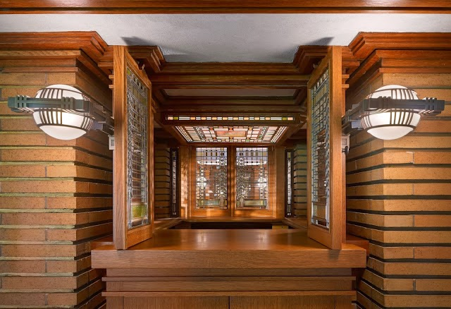 From the Curator's Corner of Frank Lloyd Wright's Martin House Complex (Buffalo, NY)