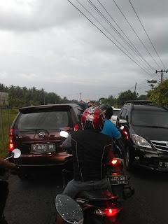 Kemacetan di Gandrungmangu
