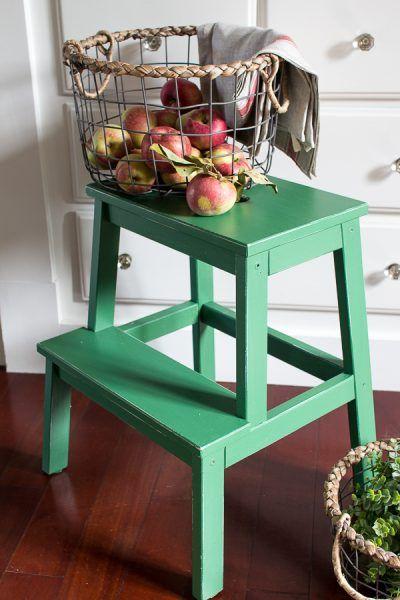 17 ideas para personalizar tu taburete Bekvam de Ikea