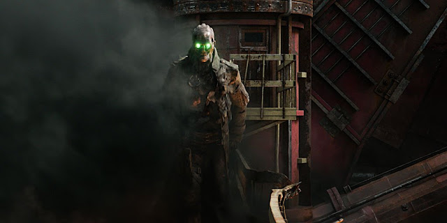 mortal engines shrike green eyes