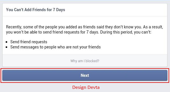 How to Fix Blocked Facebook Requests?
