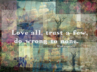 William Shakespeare Quote about trust