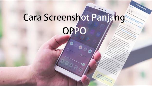 Cara Mudah Screenshot Panjang di semua hp Oppo