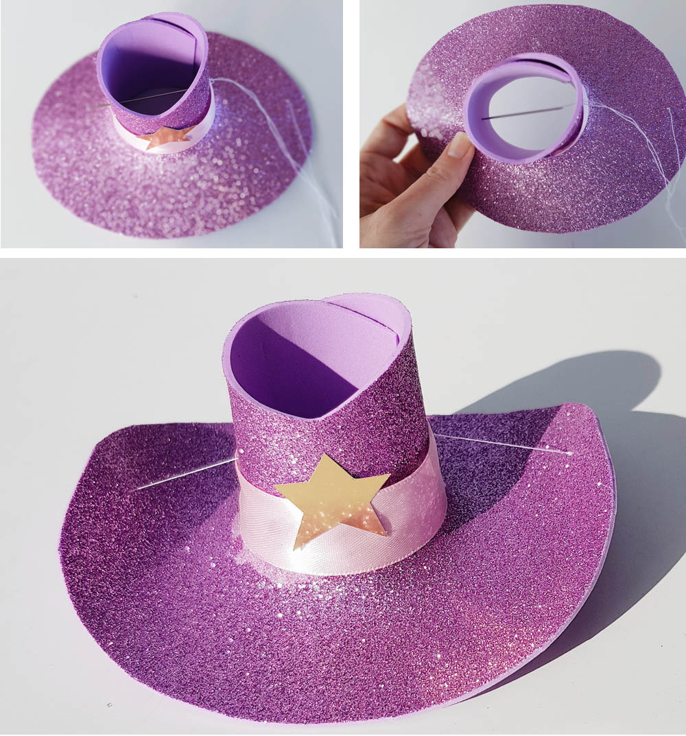 928c82052 How to make a Mini Cowgirl / Cowboy Hat DIY | Now thats Peachy