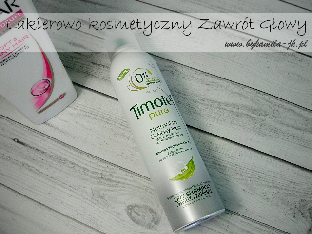Suchy szampon Timotei Pure