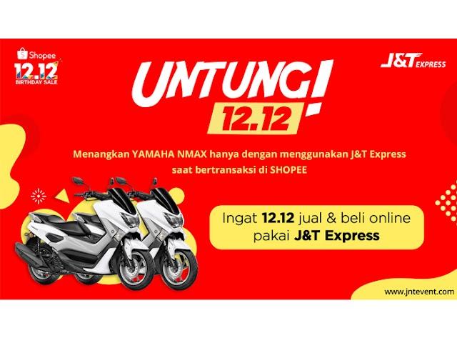 Rayakan Harbolnas, J&T Express Bagikan Hadiah 2 Unit Sepeda Motor Yamaha Nmax