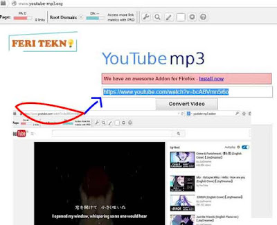 Download  mp3 dari youtube - feri tekno