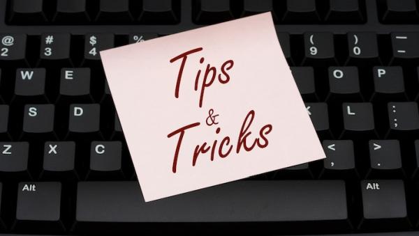 Tips & Tricks (April 2017)
