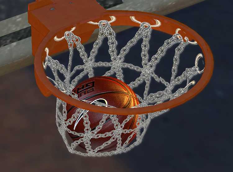 NBA 2K14 Chain Basketball Net Patch