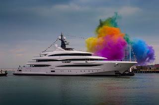 Varato il nuovo superyacht di 74 metri di CRN