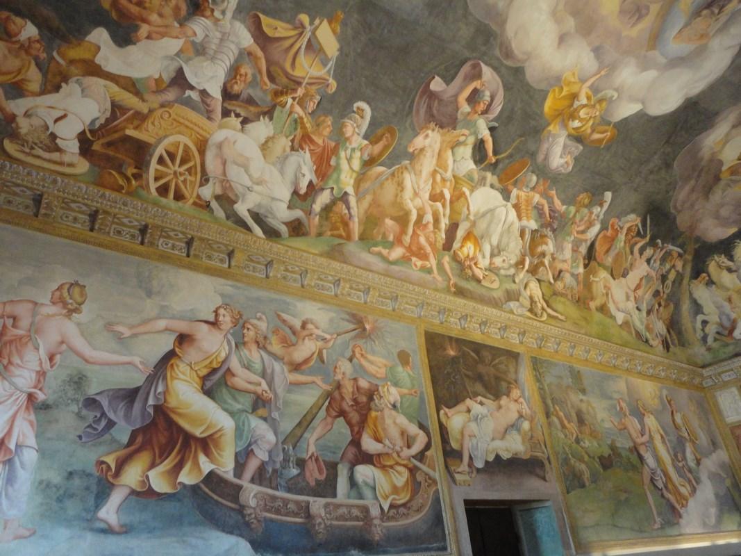 I viaggi di raffaella il palazzo ducale di mantova la for Stanza mantova