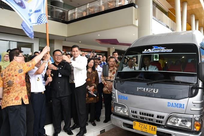 10 Bus Damri JA Connection Siap Layani Warga Depok ke Bandara