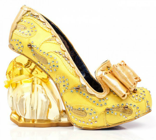 Irregular Choice hoppity bunny yellow